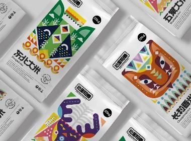所喜文化:大米包装设计