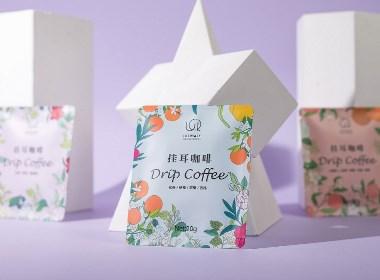 美学挂耳咖啡包装设计
