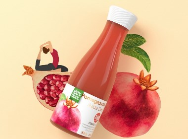 水果酵素饮品 饮料 果汁 健康食品 保健食品 品牌包装设计©刘益铭 原创作品