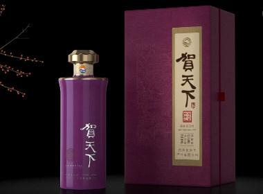 贵州酱香白酒包装设计-黑马奔腾设计
