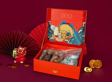 【方森园】新年礼盒包装设计——《钱多多》