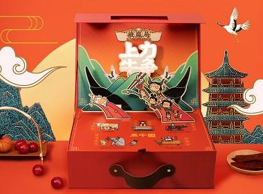 【方森园】新年礼盒包装设计——《力争上牛》