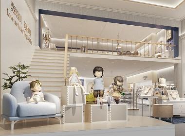 母婴用品专卖店形象SI设计-英格贝贝