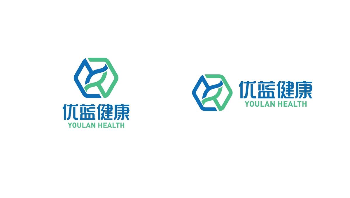 优蓝健康科技logo设计