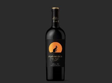 澳洲红酒标签设计