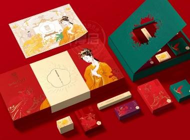 大国崛起|东方之美—国潮礼盒套装包装设计|厚启创作
