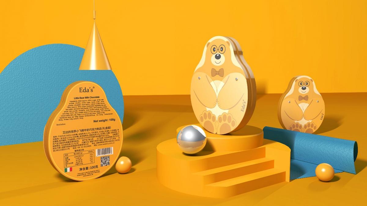 象鸟品牌×意达利巧克力×包装设计