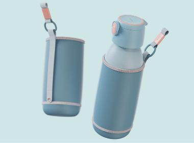 科西Keheal | 电热钛水杯 工业设计 | 2020