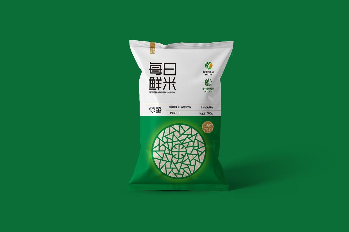 大米包装每日鲜米—意形社