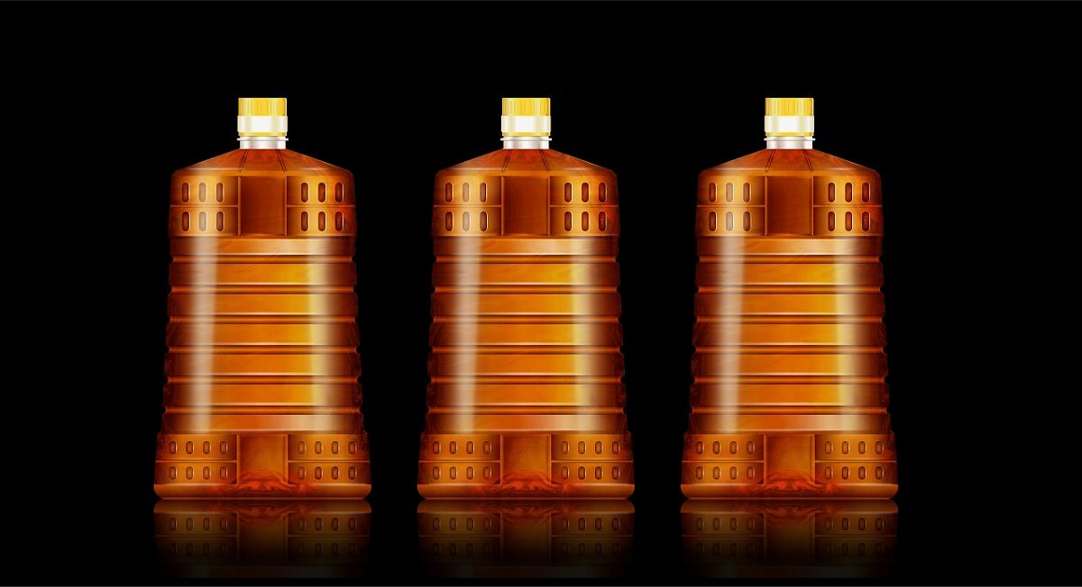 食用油瓶型设计