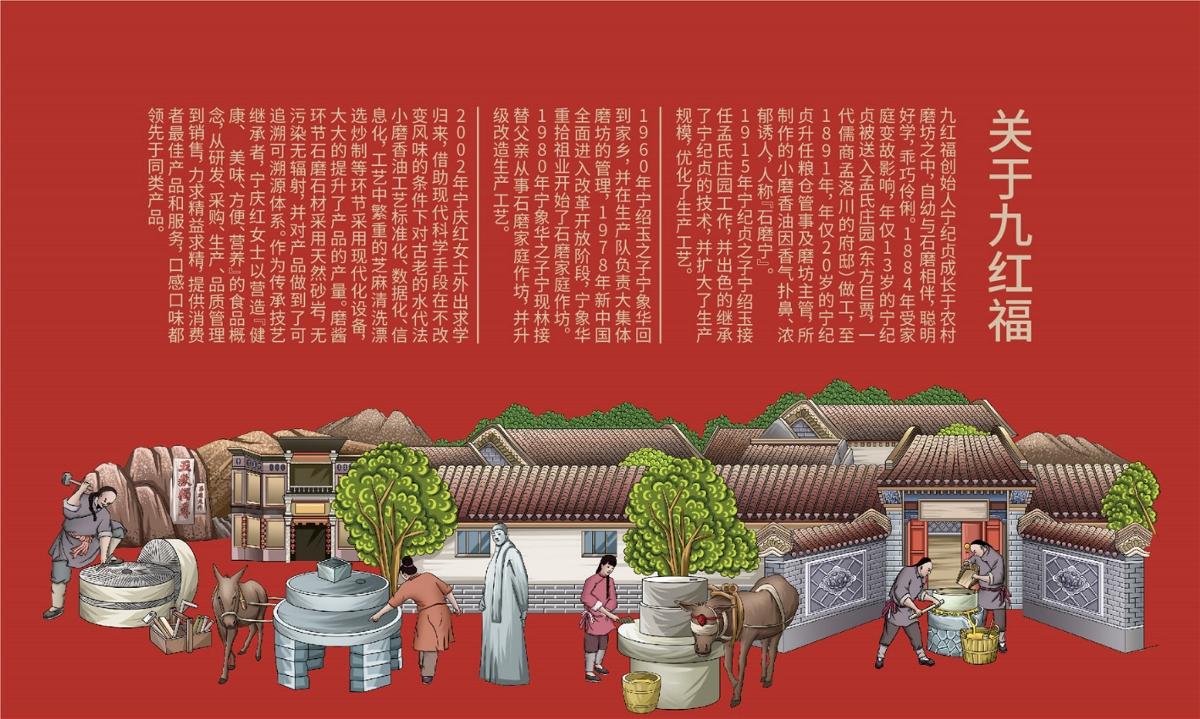 九红福小磨香油—徐桂亮品牌设计