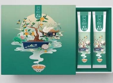 武夷山水-包装插画