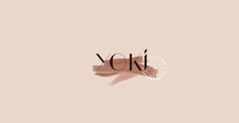 Hellolink | YOKI护肤化妆品美妆轻奢品牌产品包装设计