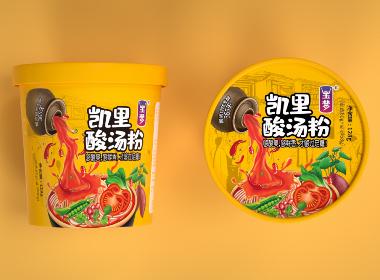 沃爱广告 玉梦 —— 凯里酸汤粉包装设计
