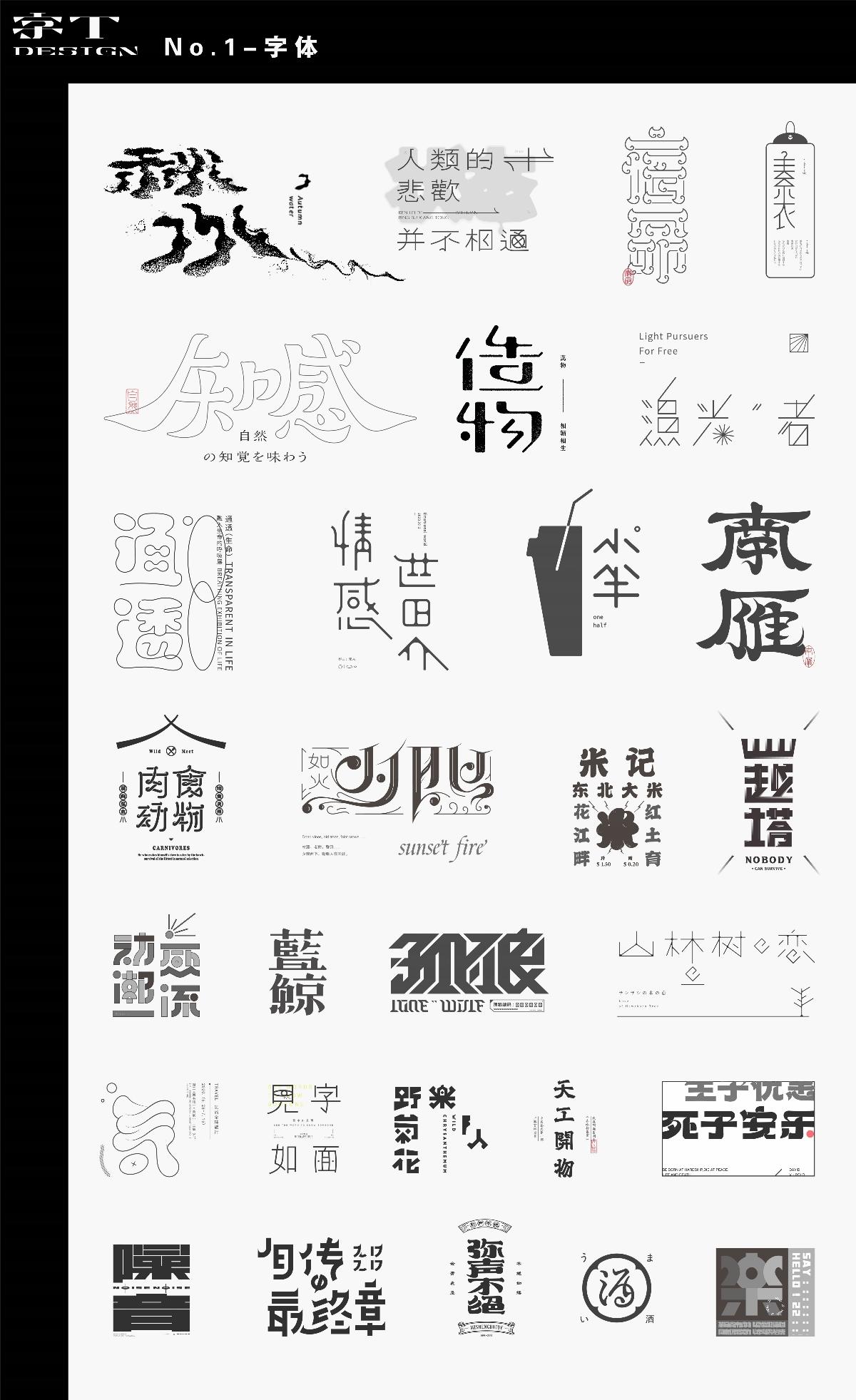 字體設計 I Typeface Design