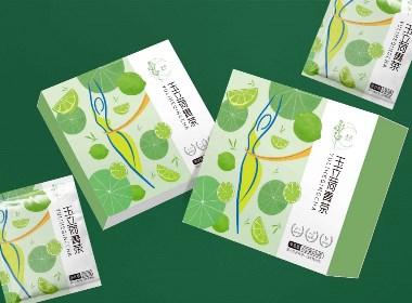 減肥茶包裝設計