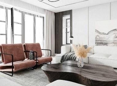 白色简约空间设计 温润细腻!