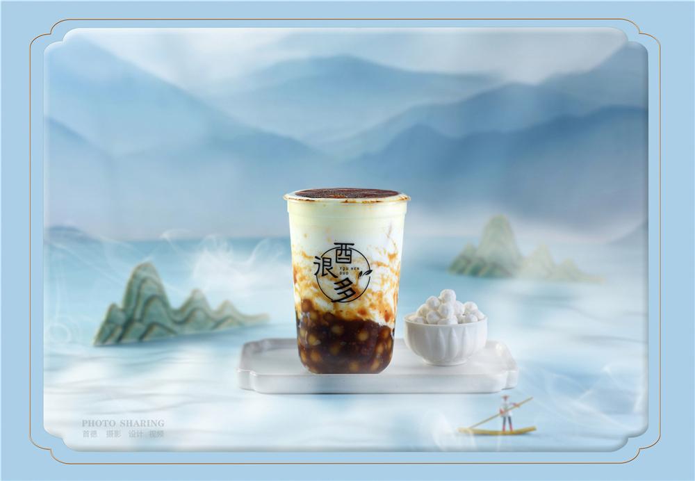 新年第一杯奶茶拍摄