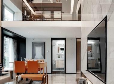 68㎡复式小公寓,简约时尚,精致生活!