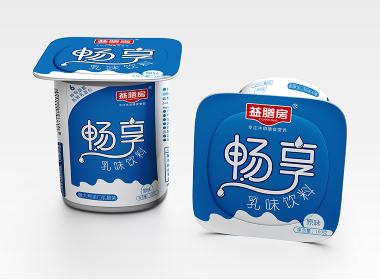 益膳房酸奶包装设计