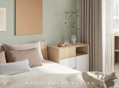 麻吉空间设计|细节至上的自然主义,90㎡的浪漫之家!