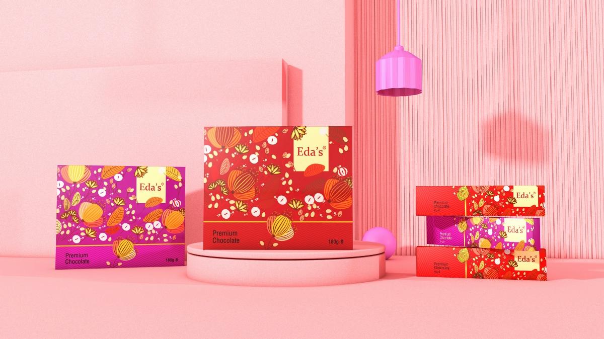 象鸟品牌X思味思我x高端巧克力包装设计