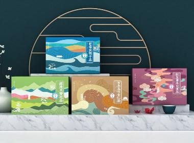 养生茶包装设计 代用茶包装设计 保健茶包装设计