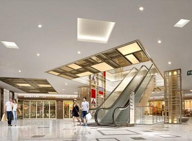 商场中庭室内设计案例效果图