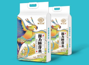 原力胚芽米/大米包装