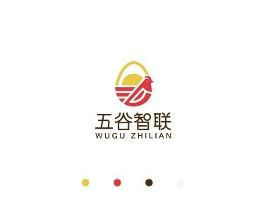 五谷智联品牌LOGO设计