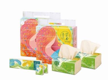 五克氮²×素笺︱母婴纸巾包装