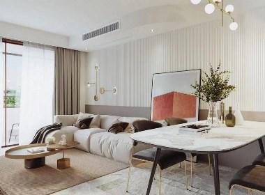 换一种调性,塑造三口之家暖暖的空间