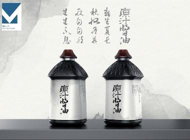 酱油瓶器造型包装设计