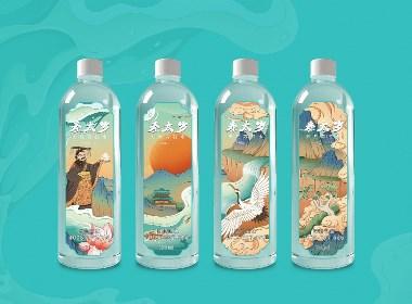 儒君×秦太岁 I 苏打水包装设计