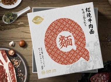 HUMAMA Q麺系列包装设计|摩尼视觉原创