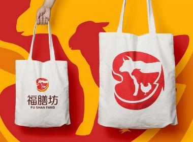 福膳坊冷链肉联品牌logo设计