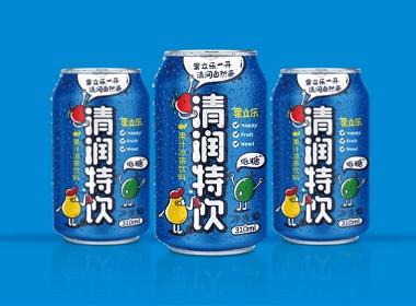 清润特饮凉茶包装设计,by-毒柚设计