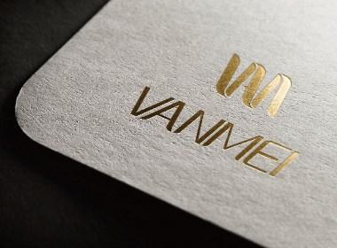 梵美vanmei美容院 logo设计