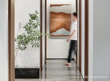 红瓦设计案例 | 海浪写给灯塔的诗 吴月玲设计作品
