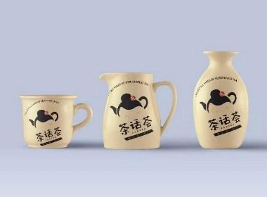 餐饮品牌、空间设计丨茶话荟·新中式茶饮