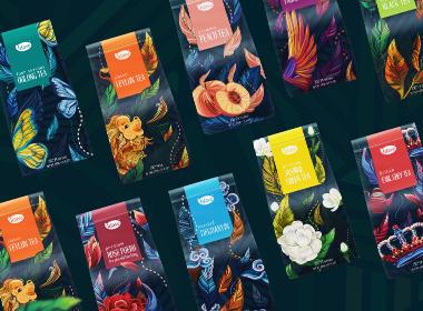 Luave | Commercial tea packaging 茶包装设计