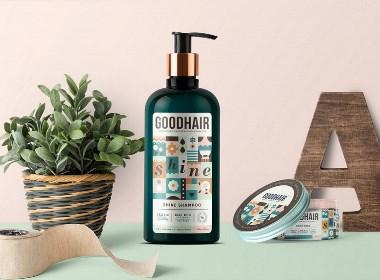 GoodHair - Hair Care Range头发护理产品包装设计