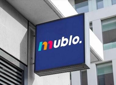 MUBLO-运动服装品牌形象设计