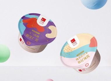 五克氮²×小正辣酱︱小罐包装视觉设计