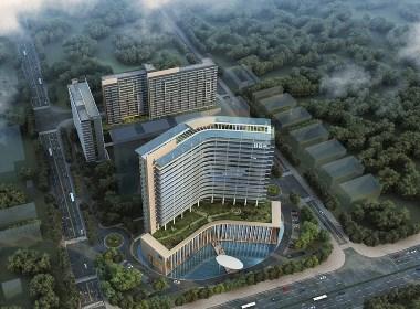 公寓楼建筑外观设计案例效果图