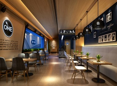 咖啡厅.咖啡馆室内设计案例效果图