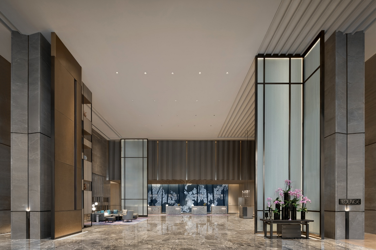 杨邦胜设计新作/光谷首家国际高端酒店 武汉万豪酒店