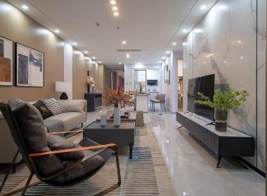 深圳家装先生 72㎡极简样板间,经受住时间考验的家居