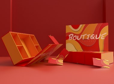 特产节日礼盒、青春活力零食大礼包、水果包装盒、红包