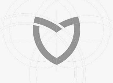 logo vi 健康医疗咨询品牌设计 全案策划